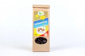 Topinambur sweets (dark chocolate)