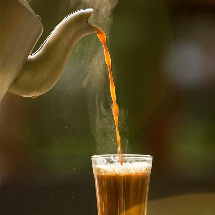Day 2: Have a refreshing morning with a nice cup of filter chai #Goa