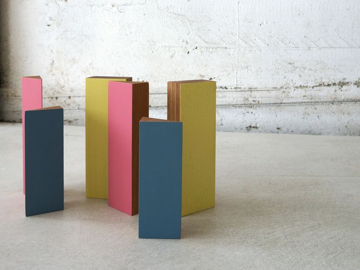 Urban-ism 6-piece accessory by Studio Brovhn. Solid oak. Lacquer and natural stained finishes. www.studiobrovhn.com #studiobrovhn #wood #accessory