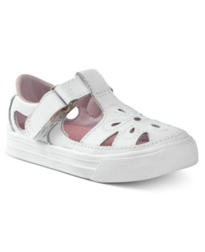 Keds Kids Shoes, Toddler Girls Adelle Shoes - White 7.5M