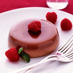 Panna Cotta is an Italian dessert made with an eggless custard and served cold. Gelatin is added to help set up this foolproof chocolate dessert.