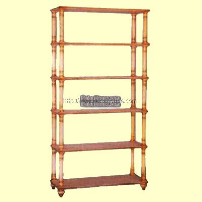 5 Shelf Rack Refrence : RBC 008 Dimension : 104 x 40 x 200 cm Material : #WoodenMahogany Finishing : #Custom Buy this #Bookcase for your #homeluxury, your #hotelproject, your #apartmentproject, your #officeproject or your #cafeproject with #wholesalefurniture price and 100% #exporterfurniture. This #5ShelfRack has a #highquality of #AntiqueFurniture #NaturalFurniture #ClassicFurniture #MahoganyFurniture #FurnitureWarehouse #ReproductionFurniture