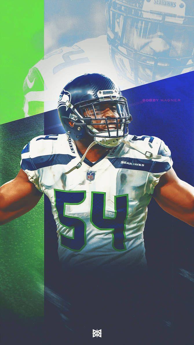 Seattle Seahawks Bobby Wagner Wallpaper By Benlueckdesigns Nfl Seahawks Seattle Seahawks Football Seahawks Football