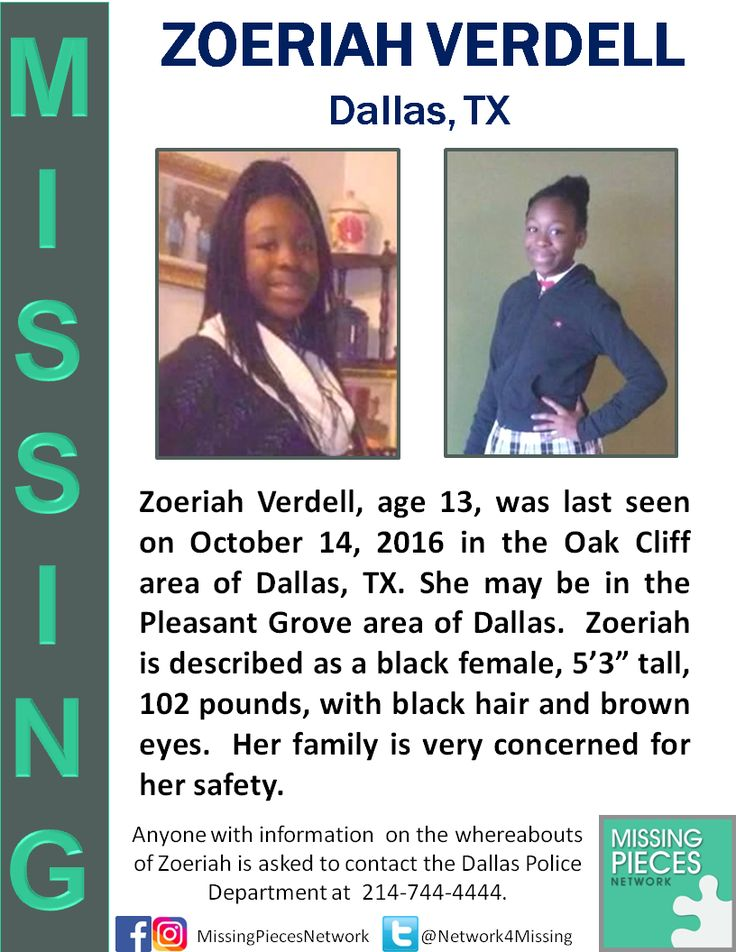 Missing 13 Year Old Boy: ***MISSING 13 YEAR OLD FROM DALLAS, TX*** Zoeriah Verdell
