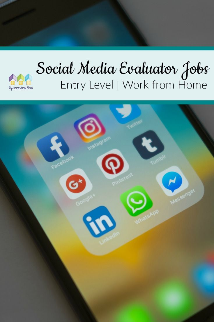 entry level resume objective examples%0A Social Media Evaluator Jobs  u     Entry Level and Work from Home
