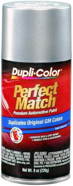 GM Metallic Silver Auto Spray Paint - 12 12C 13 13S 1985-2000: Dupli-Colors Metallic Silver Auto Touch-Up Spray Paint color codes 12 12C 13…