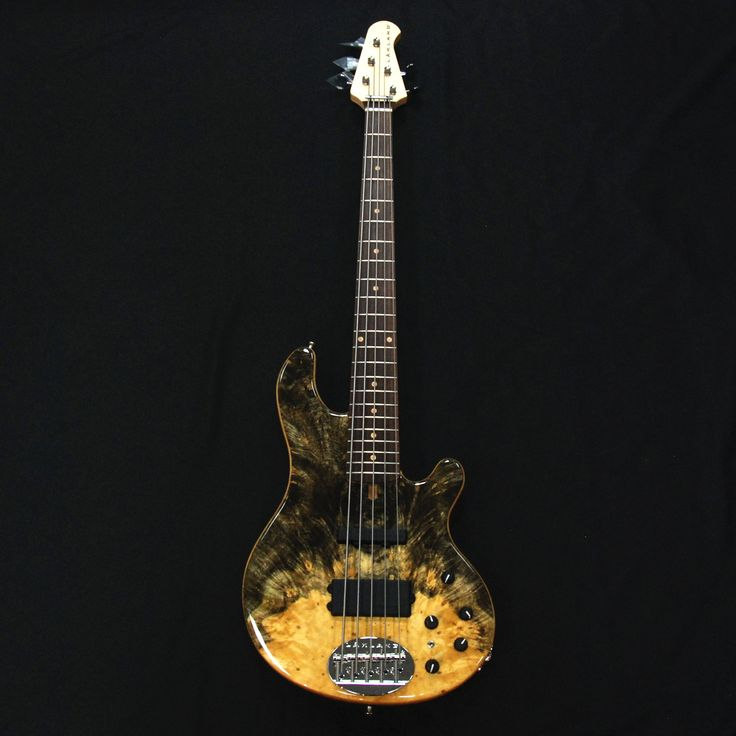 Lakland USA 55-94 Custom Deluxe Buckeye Burl Maple 5