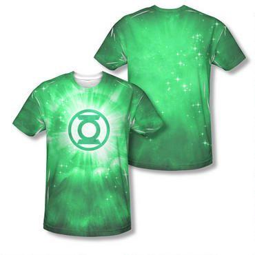 Green Lantern Logo Adult Sublimation Allover Print T-Shirt