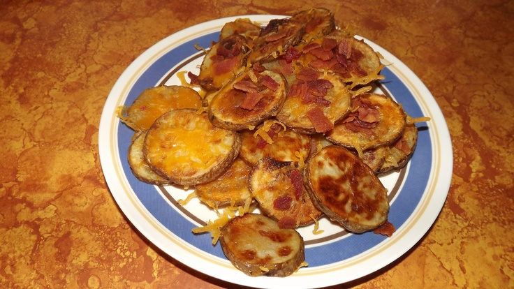 Cheese and Bacon Potato Rounds - Were simple to make and turned out ...