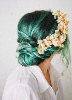 Mavi Saç Renkleri,Mavi Ombre Modelleri
