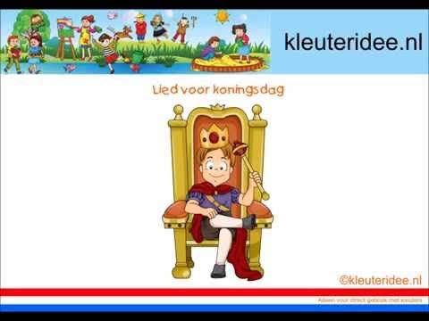 Lied voor koningsdag, van kleuteridee nl