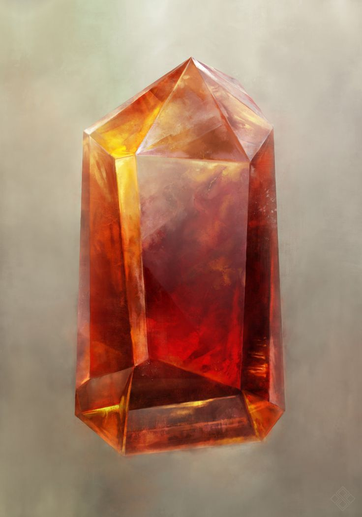 Citrine 004 By Zsoltkosa Fire Stone Crystal Gem Gemstone Jewel Red Amber Fire Gold Equipment