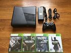 Microsoft Xbox 360 Slim 4gb Console  4 Call of Duty Games bundle lot system