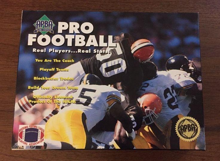 APBA Pro Football Game 1994 Season   eBay