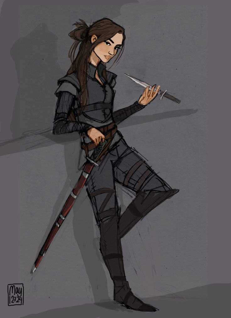 Nesryn - agghhhh don't ship her with Choal but oh well this is an amazing drawing.
