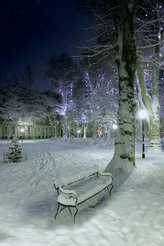 winter in Zagreb   Croatia