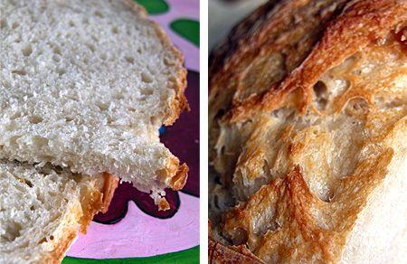 Il pane con le pieghe