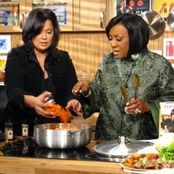 Patti LaBelle's Say-My Name Smothered Chicken and Gravy .  This is Patti LaBelle's recipe that she shared on the Oprah show years ago.