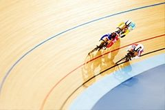 Cycle round the velodrome