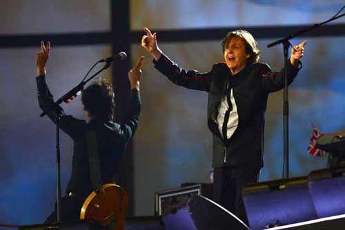 London 2012 Summer Olympics - Opening Ceremony - Beatles singer Paul McCartney concert
