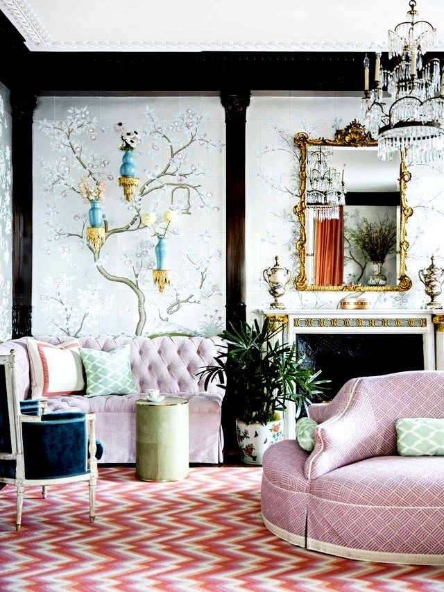 Inspired Decorating having a moment with chinoiserie