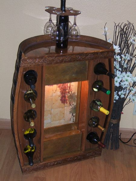 121 Best Wine Barrel Ideas Images On Pinterest Barrel