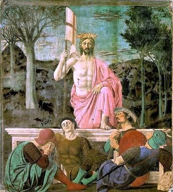 Piero della Francesca - Resurrezione - Museo Civico - San Sepolcro (Ar) #Nottebiancatw