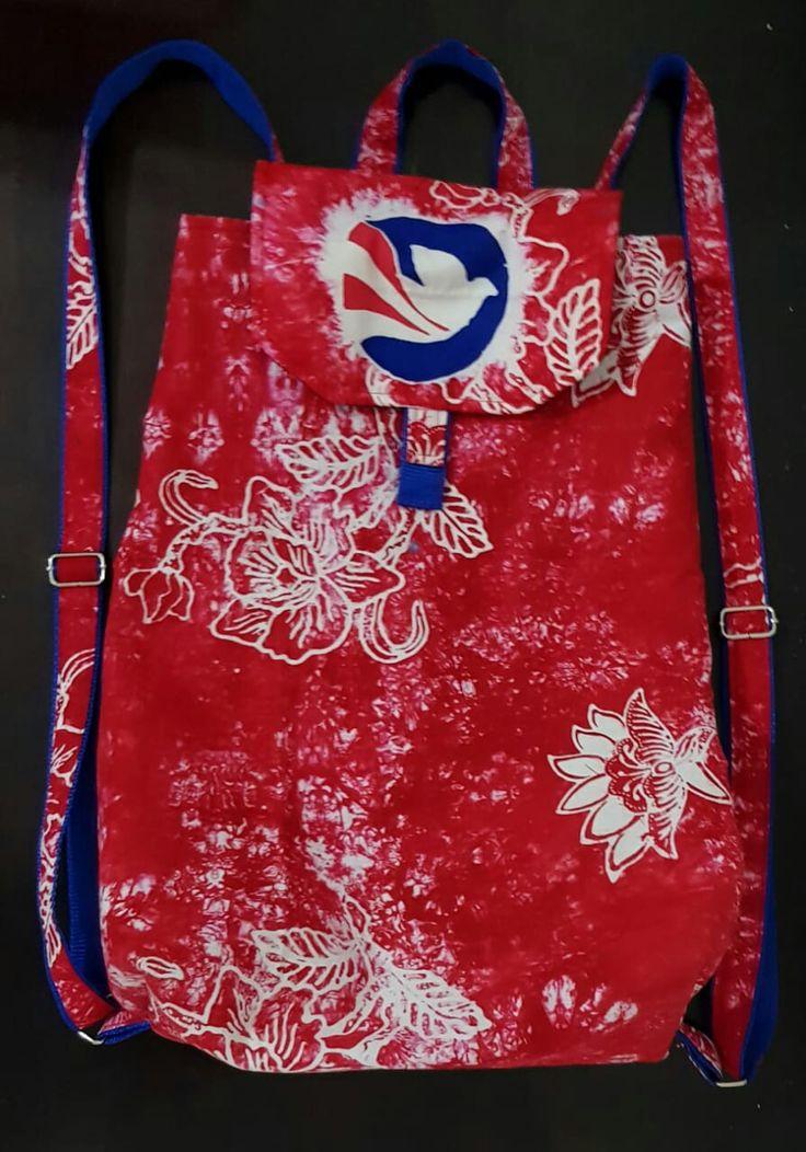 #batikbag #batikbackpack #fabricbackpack.#backpack #selfmade