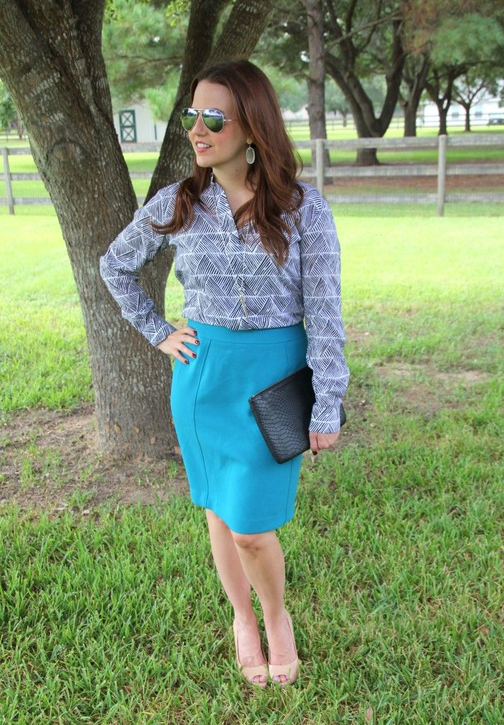 What to Wear to the Office | Lady in Violet