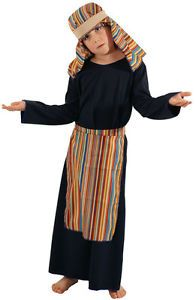 Bible-Story-Nativity-STRIPY-INNKEEPER-Fancy-Dress-Outfit-ALL-AGES