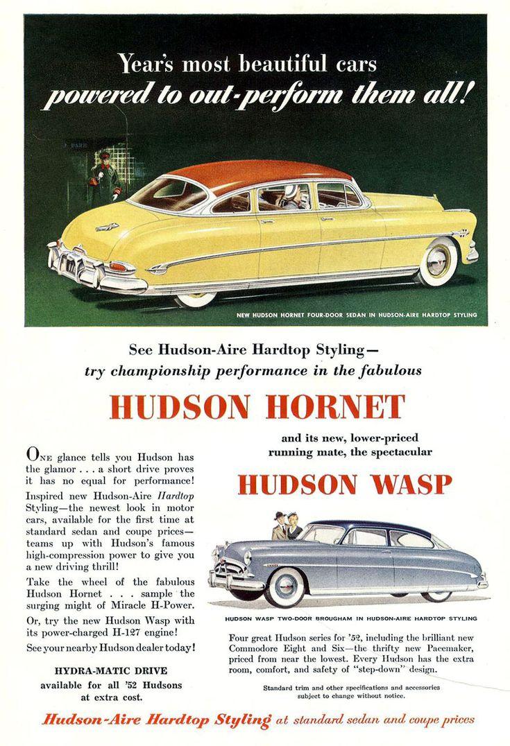 676 best Hudson images on Pinterest | Hudson hornet, Old school cars ...