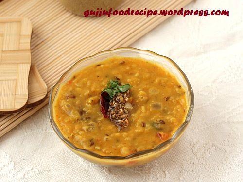 Mix Punjabi Style Dal Fry in Gujarati lanuage #food #recipe #gujarati #dal