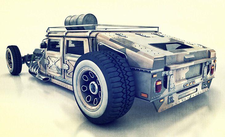 HummRod Humvee Hot Rod
