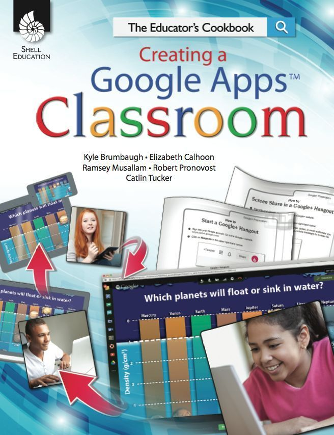Creating a google apps classroom -- great book and read for educators on technology in the classroom!