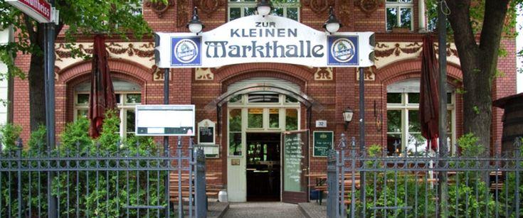 Gaststätte Zur kleinen Markthalle - Restaurant mit Biergarten und historischem Ambiente in Berlin Kreuzberg