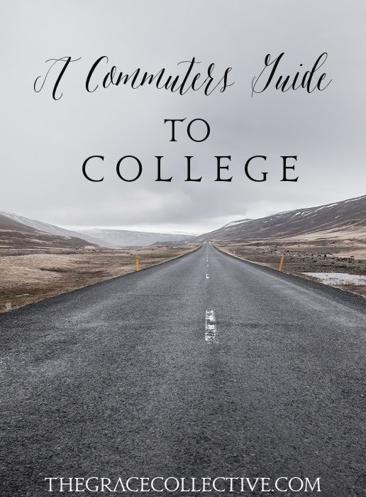 Commuter? Here's the top 10 tips I have for you! // A Commuters Guide To College