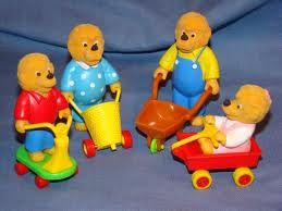 Berenstain Bears from McDonalds Happy Meal