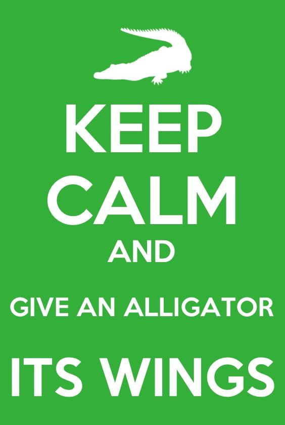 "Give an alligator its wings! Subscribe to @grav3yardgirl on youtube, you won""t regret it!"