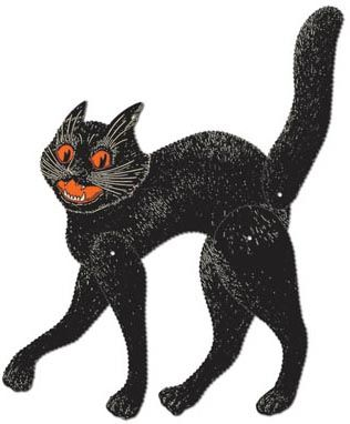 the vintage halloween store beistle halloween jointed scratch cat the beistle company is issuing reproductions of its vintage originals and partyware