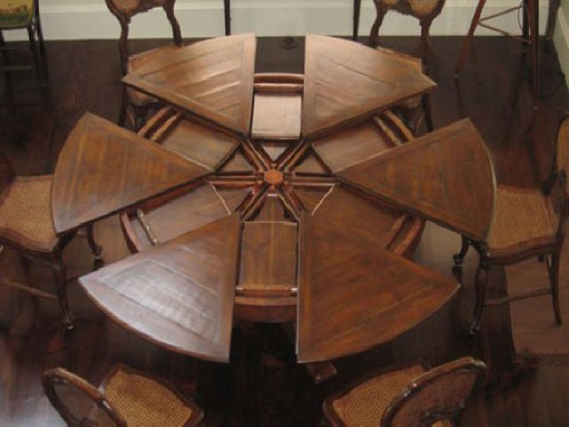 Round Dining Room Tables With Leaves Various Dining Room Tables