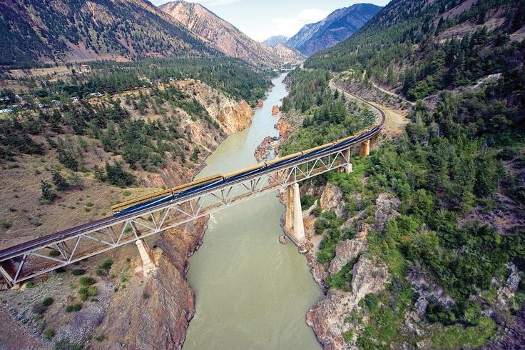 Canyon Bridge over the Fraser River near Lillooet, BC