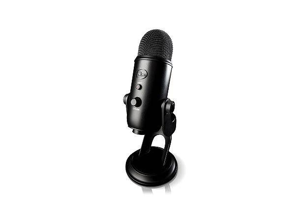 YETI BLACKOUT BLACK - Create unparalleled recordings with your computer using Blue's best-selling Yeti family of USB microphones. Thanks to our proprietary tri-capsule tech...