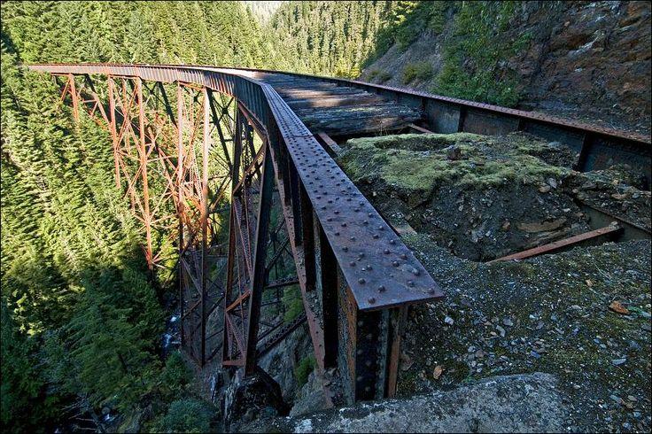 KVR trail, Hope BC