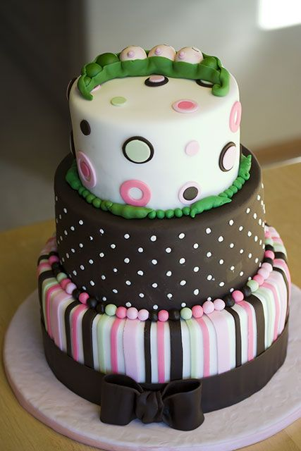 Crazy Beautiful Cakes Cake Gallery Triplet Baby Shower Cake Beautiful Baby  Shower Cupcakes 427x640