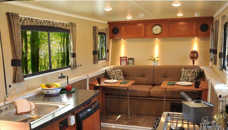 TrailManor SilverTrail Edition interior  HiLo Camper
