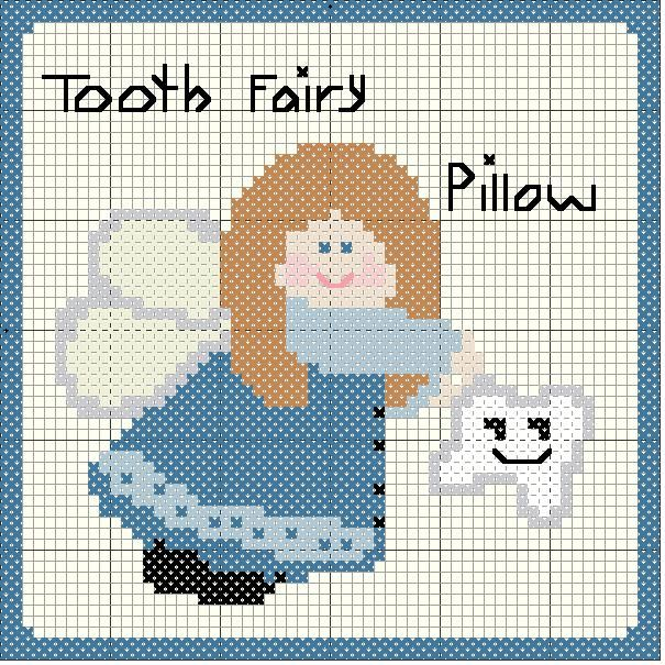 The Family.com/Cross Stitch Niche/Tooth Fairy Pattern