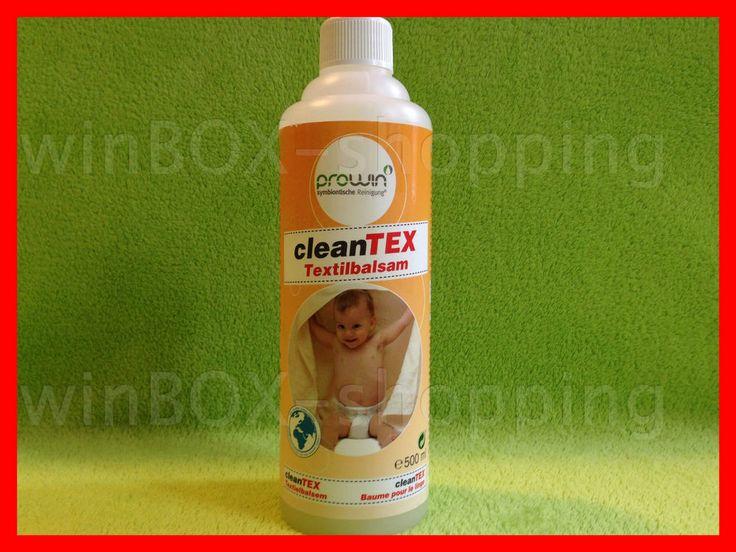 proWIN CleanTEX Textilbalsam 500 ml pro WIN Clean Tex Textil Balsam Waschmittel