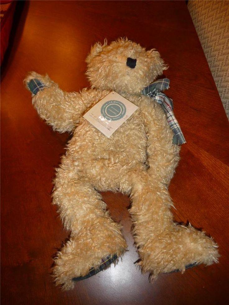 "SOLD = Retired Boyds Bear JP Hutton III 3rd 17"" Floppy"