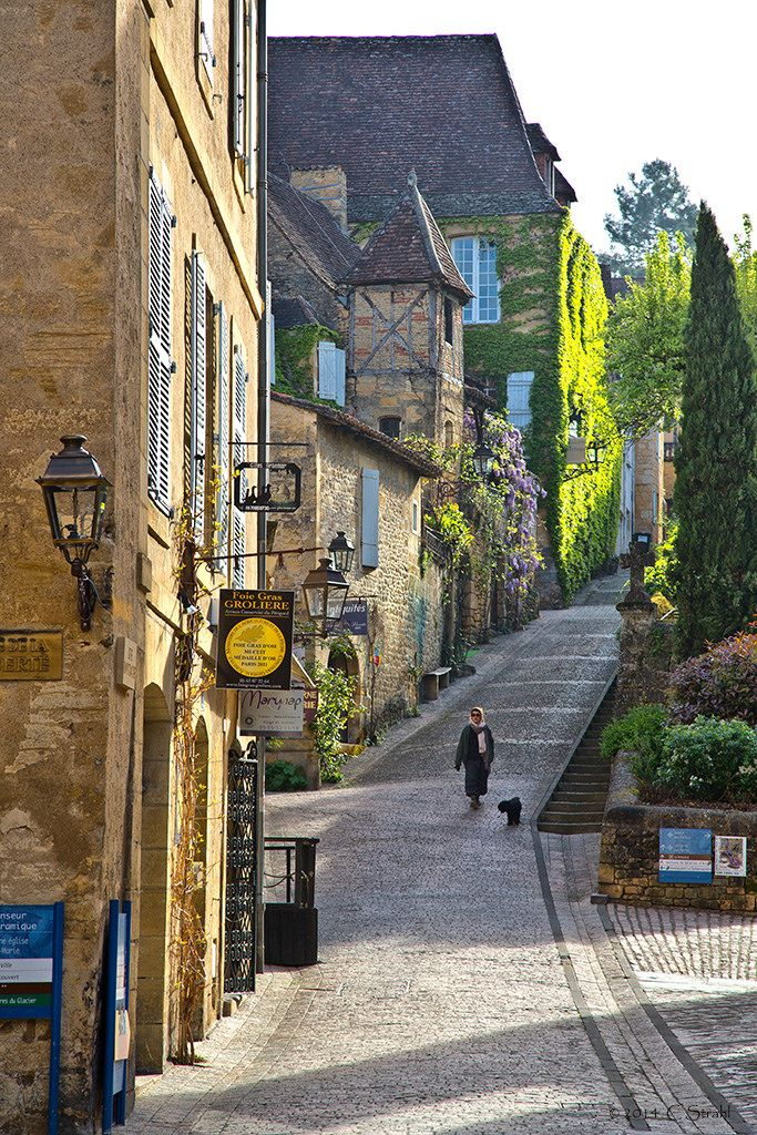 Sarlat, one of the best preserved Medieval towns in France.