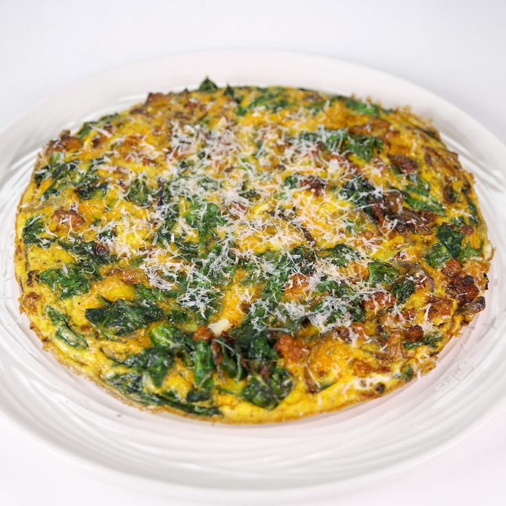 Swiss Chard and Sausage Frittata by Mario Batali